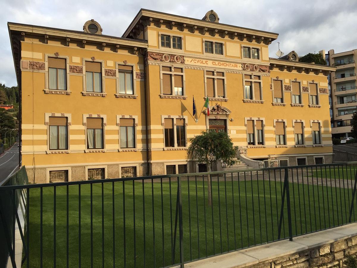 Perico-Renato-Alzano Lombardo (BG) - Scuola Noris - Restauro 1