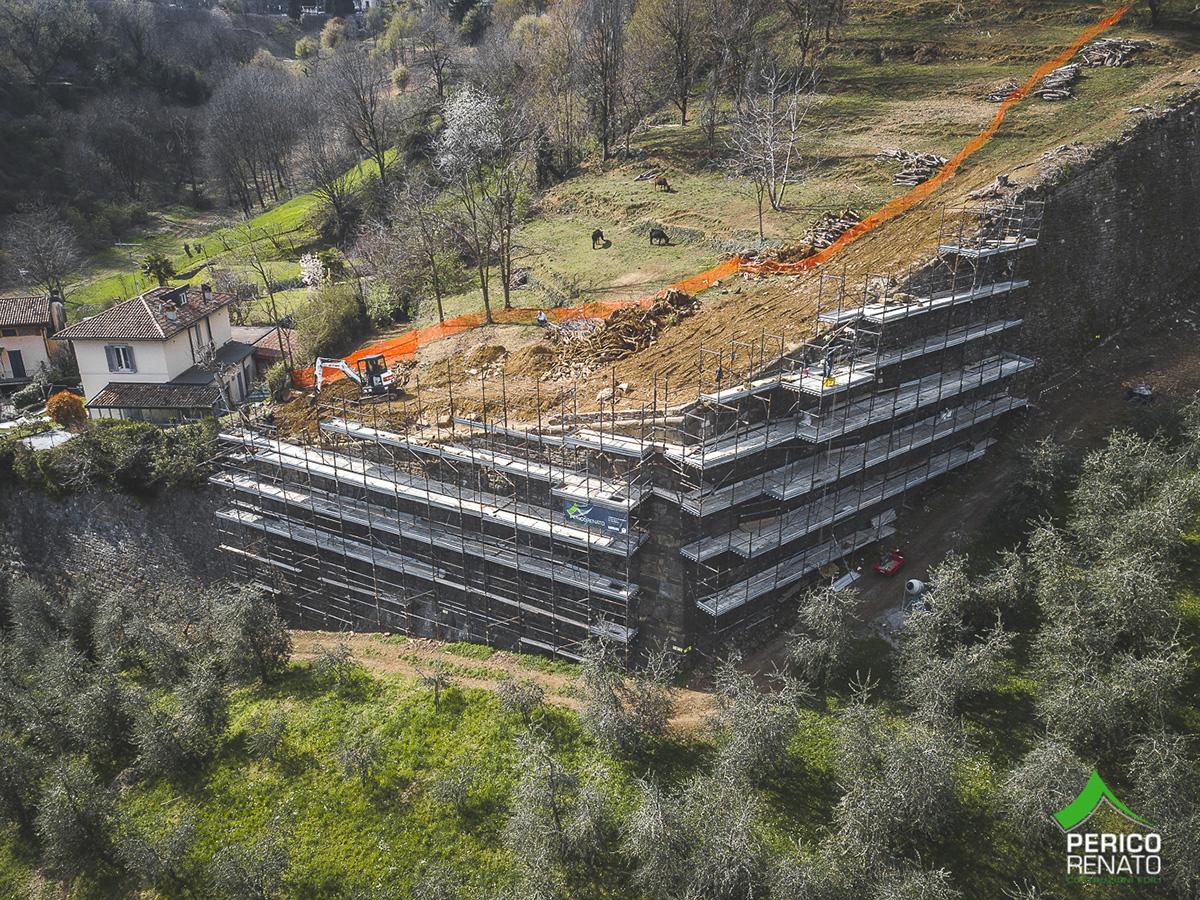 Perico-Renato-Bergamo, Città Alta - Mura venete - Restauro 1