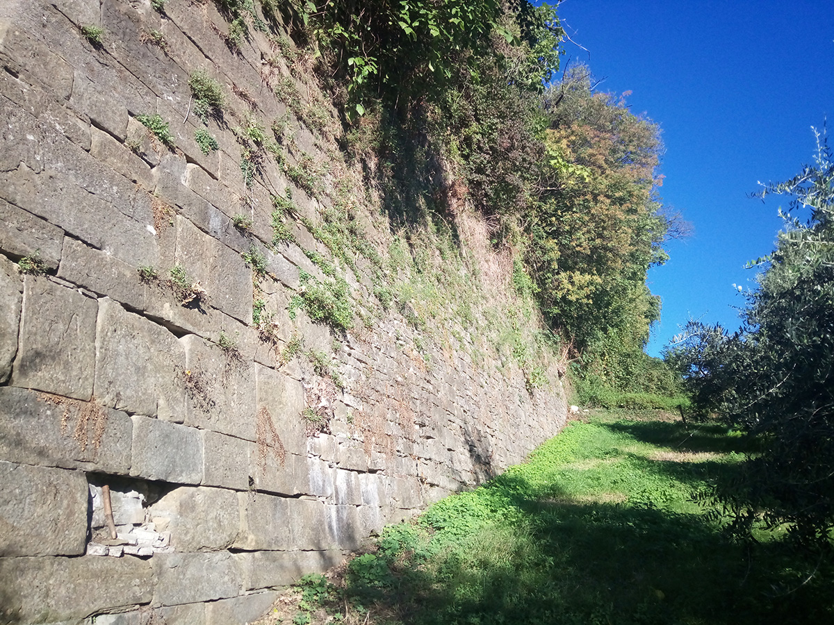 Perico-Renato-Bergamo, Città Alta - Mura venete - Restauro 16