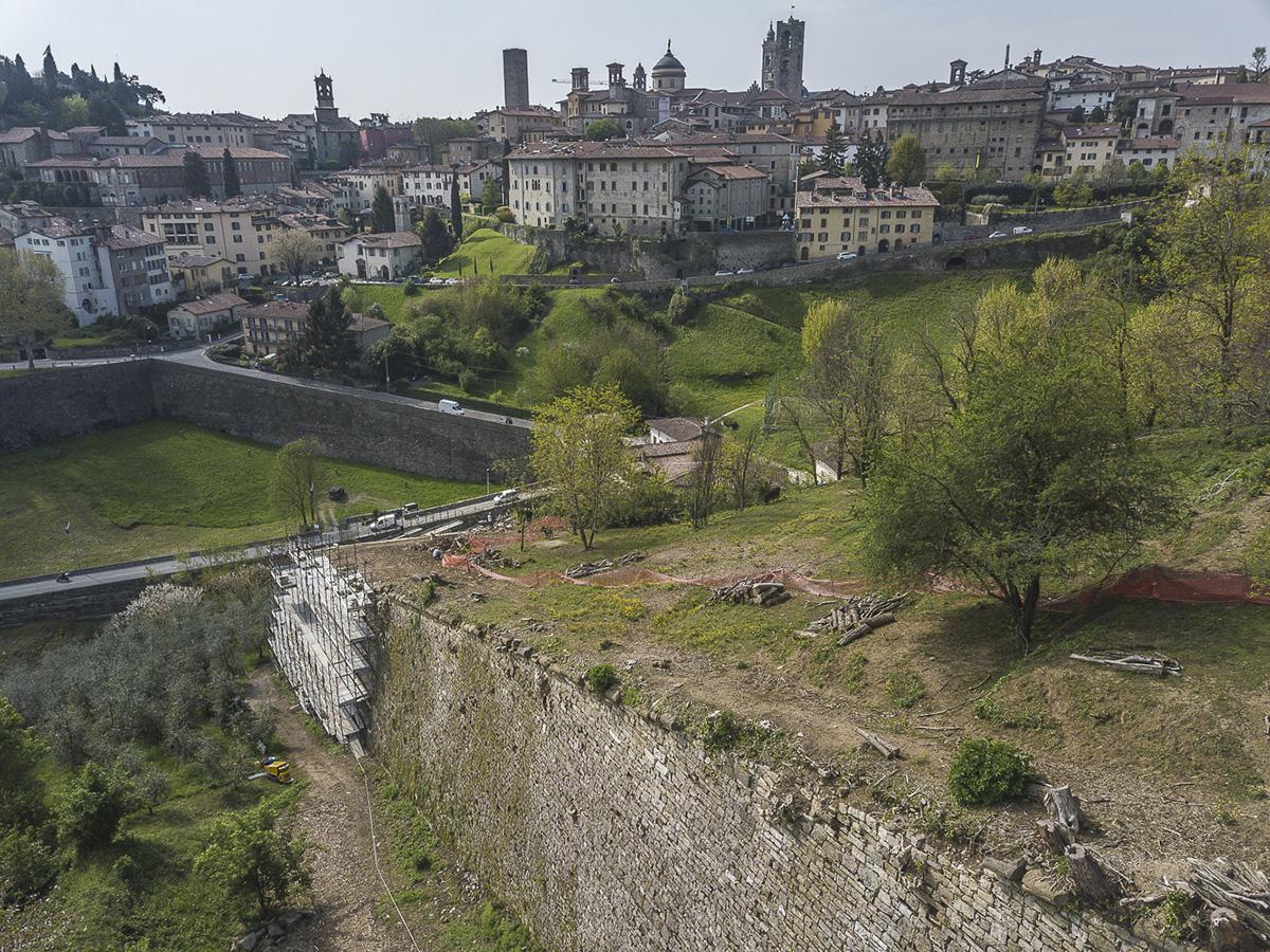 Perico-Renato-Bergamo, Città Alta - Mura venete - Restauro 2