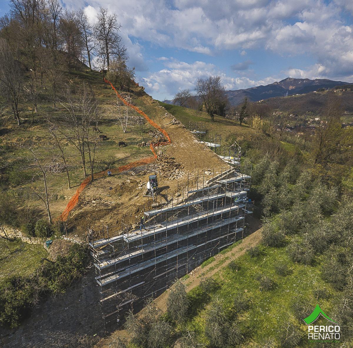 Perico-Renato-Bergamo, Città Alta - Mura venete - Restauro 9