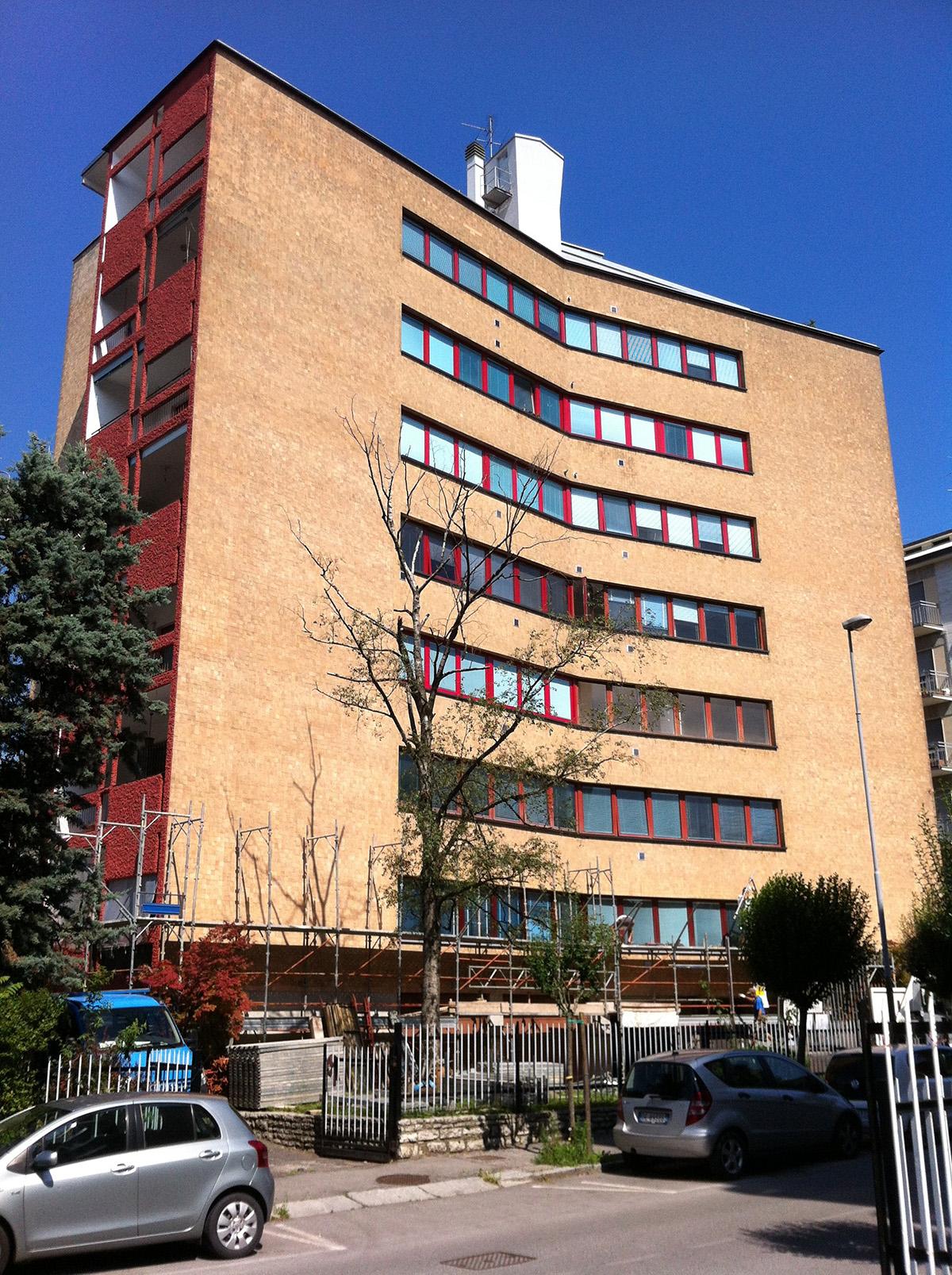 Perico-Renato-Bergamo - Condominio Edildalmine - Risanamento facciate 11