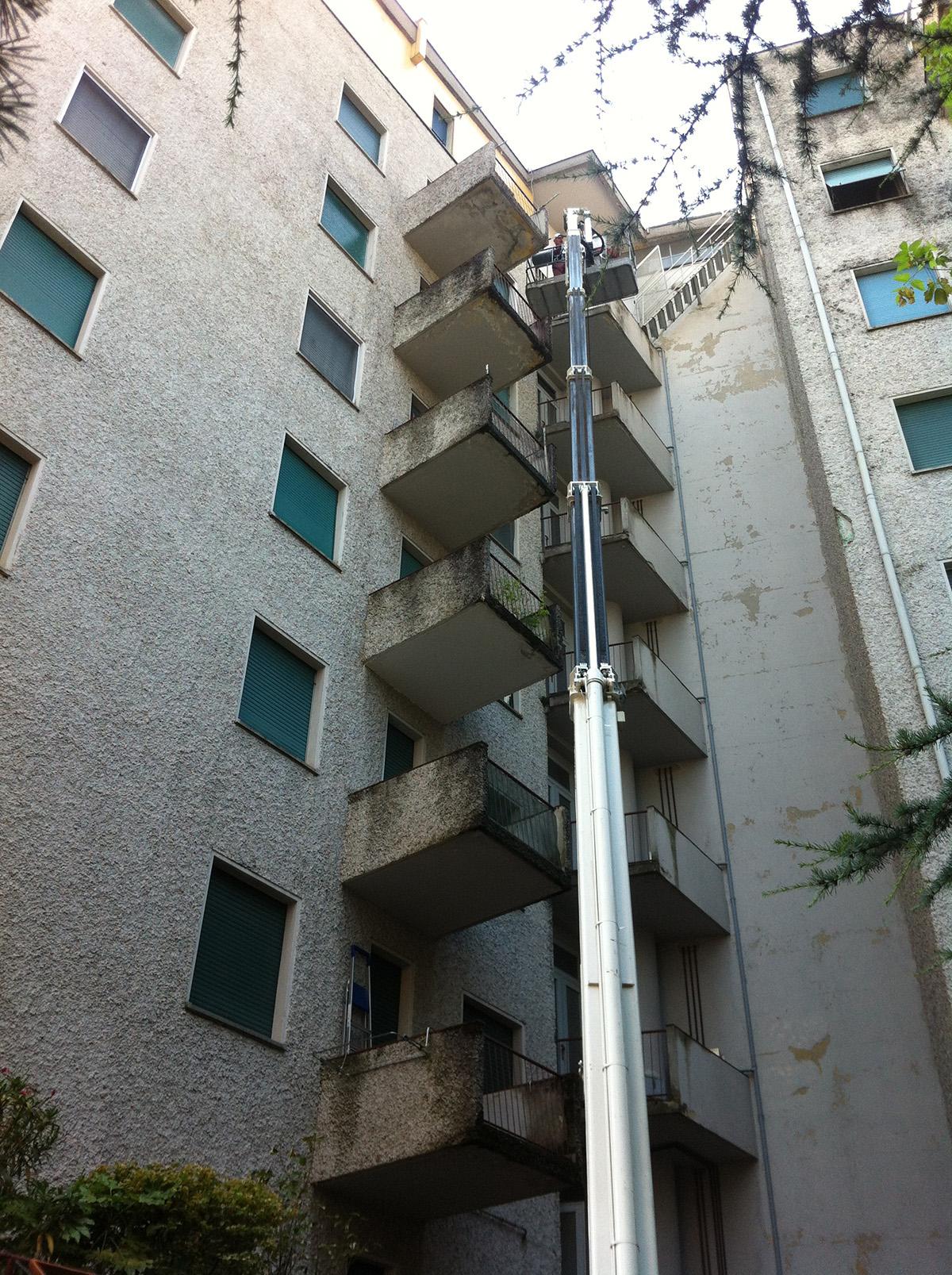 Perico-Renato-Bergamo - Condominio Edildalmine - Risanamento facciate 8