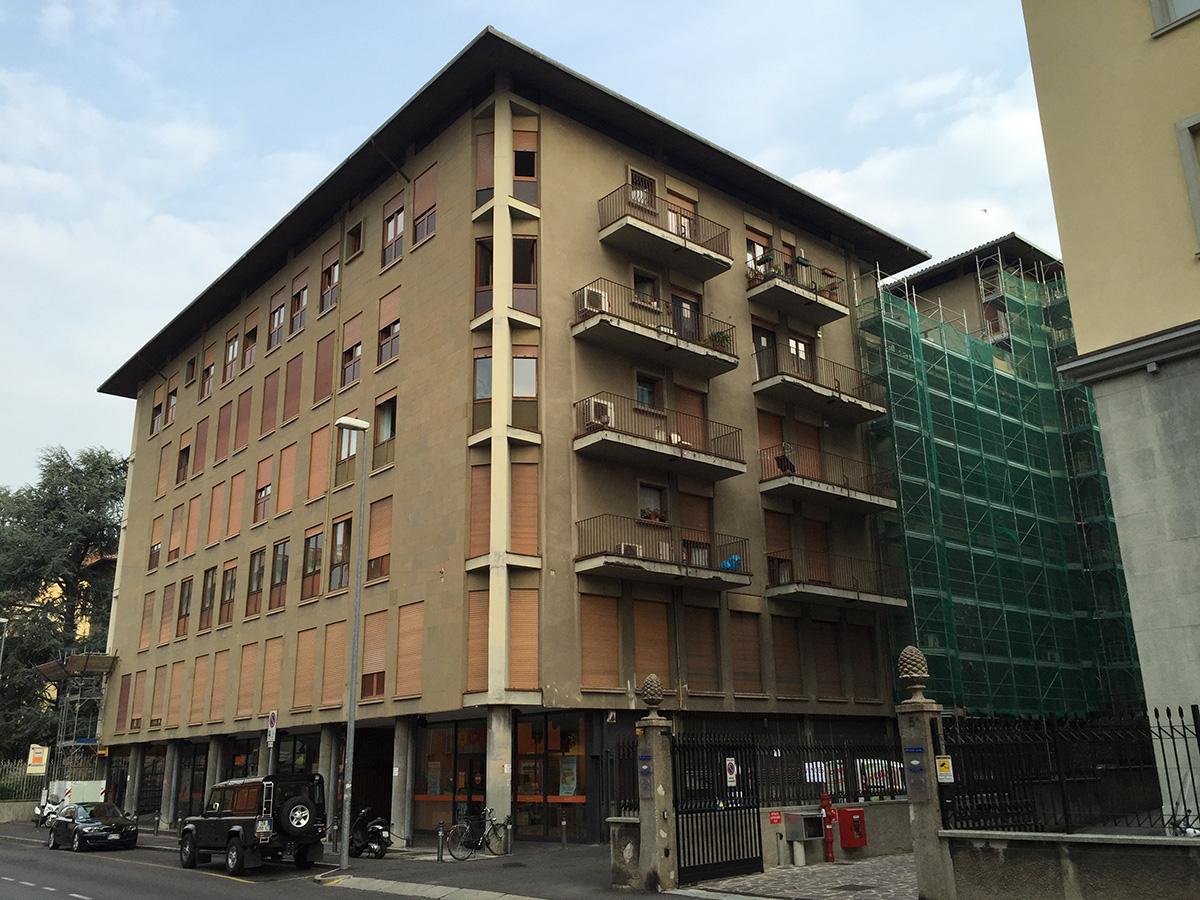 Bergamo – Via Garibaldi – Manutenzione e risanamento facciate